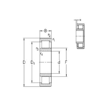 NU213-E-MPA NKE Cylindrical Roller Bearings