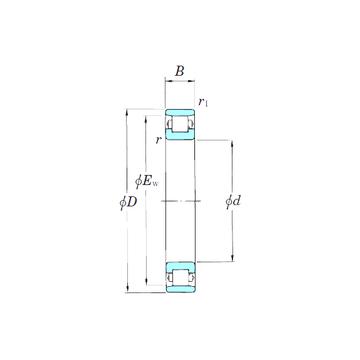 3NCN1024 KOYO Cylindrical Roller Bearings