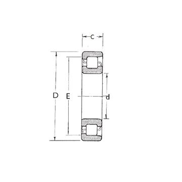 NF320 FBJ Cylindrical Roller Bearings